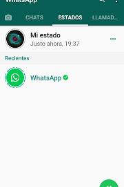 Ya podemos disfrutar de los Estados de WhatsApp